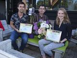 Hydrangea macrophylla Three Sisters® and Clematis 'Taiga'® win Press Award at Plantarium 2016