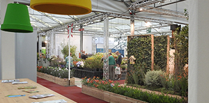 Suppliers in the picture on the growers' square Plantarium 2017